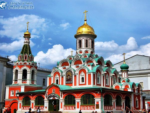 HÀ NỘI - MOSCOW - ST PETERSBURG - HÀ NỘI