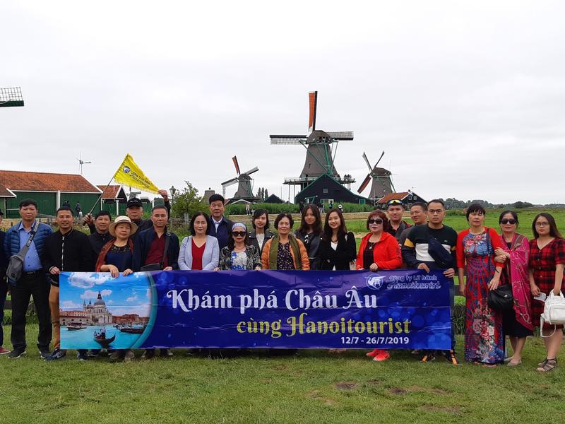 Khách du lịch Châu Âu | Hà Lan