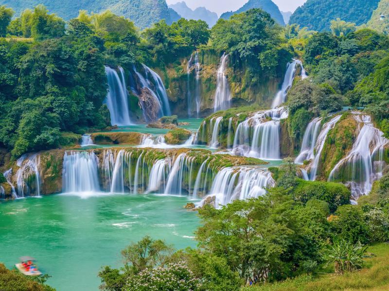 Cao Bằng - Thác Bản Giốc - Hồ Ba Bể